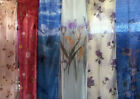 72'X72' Shower Curtain w/plastic, hooks, front panel, bathroom home Many Designs