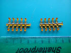 Amber beacons x 10. 4mm/ 1/76th plastic.  Lorry/ truck/ recovery/ code 3