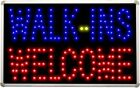 led020 Walk-ins Welcome OPEN LED Neon Light Sign