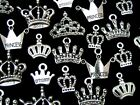 Tibetan Silver Random Mixed Princess Crown Charms Pendants Craft Jewellery ML