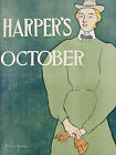 Harper's Vintage advertisement print poster, 4 sizes available