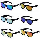 New Reflective Revo Lens Hipster Rubber Touch Finish Sunnies Ky8032-RV-RBK multi