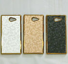 New Leather Designs Hard Back Cover Case Skin for Sony Xperia M2