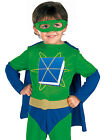 Super Why TV Show Superhero Reader Book Club Halloween Costume M, L