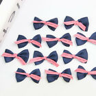 20 X Baby Girls Hair Accessory Corsage Clothing Bowknot Applique DIY Craft