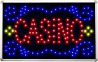 led077 Casino Room LED Neon Sign