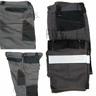 Mens Cargo Combat Pants Work Wear Trousers Hi Vis Strips High Viz Stripes HYM727