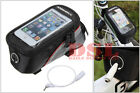 ROSWHEEL BICYCLE MOBILE PHONE HOLDER CYCLE BIKE IPHONE FRAME POUCH BAG CASE