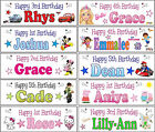 3ft Personalised Mickey Minnie Mouse Ben 10 Hello Kitty Cars Peppa Pig Banner