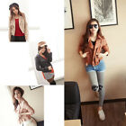 2014 NEW LADIES ZIP PVC FAUX LEATHER CROPPED BOMBER BIKER JACKET WOMENS COAT