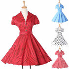2014 CHEAP Vintage 50s 60s Rockabilly Swing Evening Party Cocktail Short Dresses