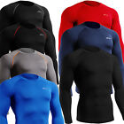 Mens Womens Compression Base Layer tight shirts Under Skin Longsleeve Top S~2XL