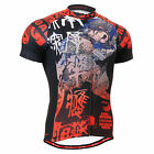 2802  mens cycle team wear cycling  jersey bicycle shortsleeve shirts S~3XL