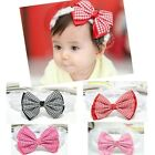 Child Kids Girl Baby Toddler Infant Bowknot Headband Hair Band Headwear CCAP7002