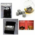 1pc OR 8pc  Whisky whiskey Ice Stones Rocks Scotch Drink Cooller Granite Cubes