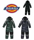 Dickies Waterproof Padded Overalls Mens Coverall Navy Green Black M-XXL WP15000