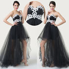 Vintage Swing Strapless Party Long Bridesmaid Cocktail Evening Prom Women Dress