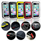 SAVFY FINGERPRINT Aluminum Metal Case for iPhone 5 5S Shock/DropProof