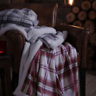Catherine Lansfield Kelso Sherpa Tartan 200x150cm Large Cosy Blanket Wrap Throw