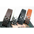 HOT Fashion Men's Hollow Cross Design Buckle Belt Waistband-AU JR