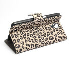 Magnetic Leopard Grain PU Leather Case for Samsung Galaxy Mega 6.3 I9200 AU4 JR