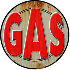 Gas Distressed Wall Decal