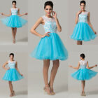 CHEAP Tulle Short/MINI Evening Prom Quinceanera Dresses Homecoming Formal Gowns