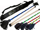 """Eco"" Flower Stick Set with Hand Sticks and Bag - Devil/Juggling Stick"