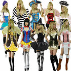 Pirate Bee Witch Gaga Gypsy Fancy Dress Costume Ladies Halloween Outfit Womens