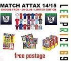 MATCH ATTAX 14/15 CHOOSE YOUR HUNDRED / 100 CLUB OR LIMITED EDITION CARDS