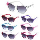 Polka Dot Cat-Eye Kids New Vintage Cute Kawaii Bow Girls Sunglasses KP2035 Multi