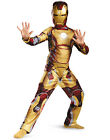 Iron Man Kids Mark 42 Marvel Superhero Boys Halloween Costume