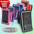 Hot Sport Gym Jogging Running Armband Arm Band Strap Case Cover For iPhone 4 4S