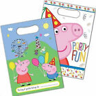 Peppa Pig & George Childrens Birthday Party Loot Bags, 8, 16,24, 32, 40