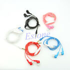 3.5mm Earbuds Headset Stereo In-ear Headphone Earphone With Volume Control Hot