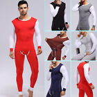 Comfort Men's Underwear Long Johns T-Shirts Modal Thermal Pants Winter Sleepwear