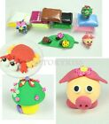 Soft DIY Craft Clay Plasticine Blocks Polymer Modeling Toy 24 Colors FST