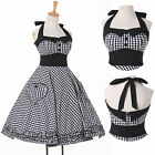STOCK Vintage Retro 50's 60s Pinup Rockabilly Swing Wedding Cocktail Short Dress