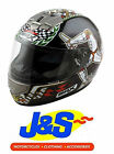 BOX BX-1 ISLE MAN TT MOTORCYCLE HELMET MOTORBIKE RACING LID CRASH HAT J&S