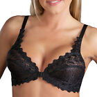 Valmont Front Close Lace Cup Underwire Bra - 8323