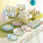 Baby Shower Christening Happi Tree Boys Girls Essential Party Pack Plates Cups