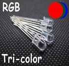 100 pcs 5mm 4pin RGB Tri-Color Common Anode Cathode RGB Red Green Blue LED Light