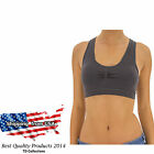 Women Padded Bra Racerback Top Athletic Vest Gym Fitness Sports Yoga Stretch