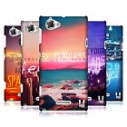 HEAD CASE DESIGNS WORDS TO LIVE BY SERIES 4 CASE COVER FOR SONY XPERIA L C2105