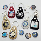 STAR TREK - Classic Real Leather KEY RING Collection - NEW- Stylish Selection...
