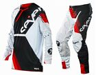 NEW 2014 SEVEN MX RIVAL LEGION MX DIRT BIKE GEAR COMBO WHITE/ RED ALL SIZES