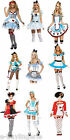 Alice In Wonderland Costume Fairy Tale With Socks Fancy Dress Disney Halloween