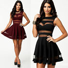 SEXY LADY XMAS Cocktail Evening Pageant Dance BRIDESMAID Party CLUB MINI Dresses
