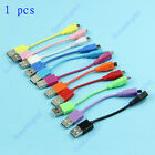 Colorful Travel Short USB To Micro Data Charger Cable For HTC Nokia Galaxy Moto