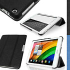 "PU Fibre Textured Smart Cover for Acer Iconia A1-830 7.9"" Stand Folio Slim Case"